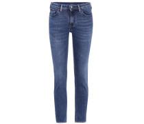 Skinny Jeans Blå Konst Climb