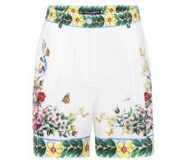 Shorts aus Baumwolle mit Print