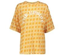 T-Shirt Carla aus Baumwolle und Leinen