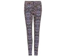 Skinny Jeans Nella mit Print