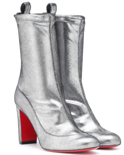 Ankle Boots Gena Bootie 85 aus Metallic-Leder