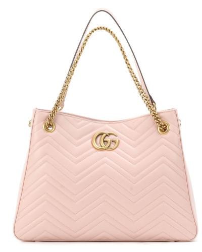 Gucci Damen Shopper GG Marmont aus Leder Versorgung Günstiger Preis Freies Verschiffen Unter 50 Dollar Die Günstigste Zum Verkauf T8JC6V