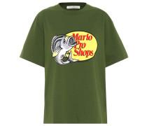Bedrucktes T-Shirt aus Jersey
