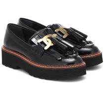 Loafers Kate aus Leder