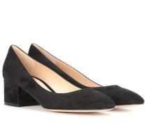 Pumps Linda 45 aus Veloursleder