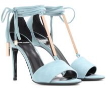 Sandaletten Blondie aus Veloursleder