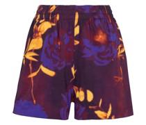 Bedruckte Shorts aus Baumwoll-Jersey