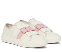 Sneakers Vara Bow aus Leder