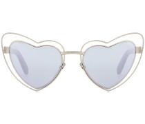 Herzförmige Sonnenbrille Loulou SL 197