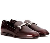 Loafers aus Leder