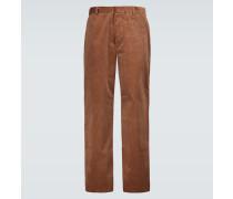 Hose mit weitem Bein aus Baumwollcord