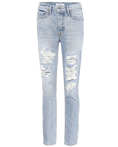 Distressed-Jeans Karolina