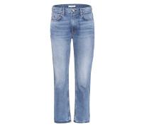 High-Rise Jeans Jane aus Baumwoll-Denim