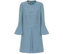 Minikleid aus Wolle und Seide