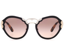 Cat-Eye-Sonnenbrille Wanderer