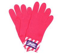 Gestreifte Handschuhe aus Wolle