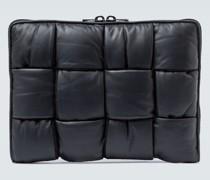 Brieftasche aus Intrecciato-Leder