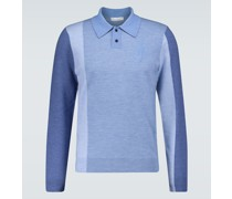 Polopullover aus Wolle