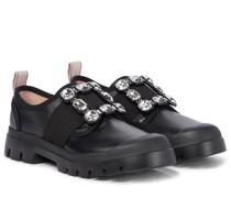 Sneakers Walky Viv' aus Leder