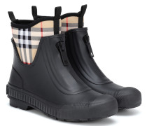 Ankle Boots Vintage Check