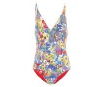 Badeanzug mit Blumenprint