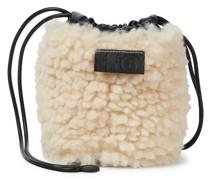 Bucket-Bag aus Faux Fur