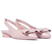 Slingback-Ballerinas Viva aus Leder