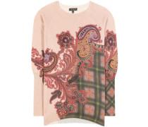 Bedruckter Pullover aus einem Woll-Cashmere-Gemisch