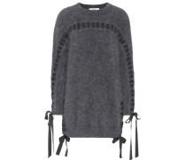 Oversize-Pullover aus einem Angoragemisch