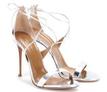 Sandalen Linda 105 aus Metallic-Leder