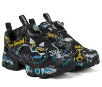 X Reebok Sneakers Logo Instapump Fury