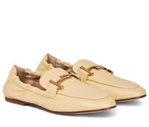 Loafers Doppia aus Leder