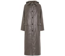 Beschichteter Mantel aus Baumwolle