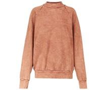 Sweatshirt aus Baumwoll-Fleece