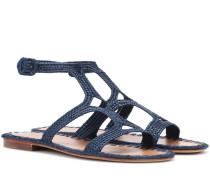Sandalen Hind aus Raffiabast