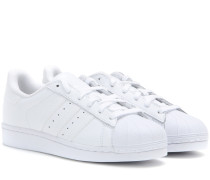 Sneakers Superstar Foundation aus Leder