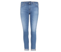 Cropped Jeans Stilt Roll-Up