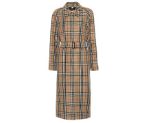 Karierter Trenchcoat The Kempton