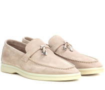 Loafers Summer Charms Walk aus Veloursleder