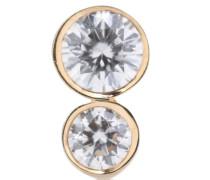Einzelner Ohrring Lulu Diamant aus 18kt Gold