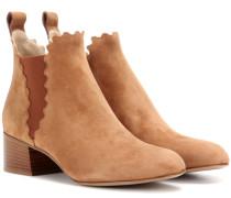 Ankle Boots Lauren aus Veloursleder