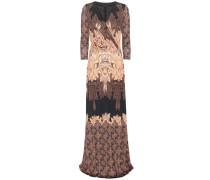 Printkleid aus Seidenjersey