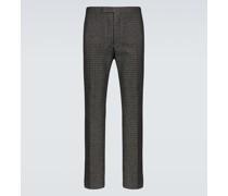 Slim-Fit-Hose aus einem Wollgemisch