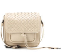 Crossbody-Tasche aus Intrecciato-Leder