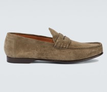 Penny Loafers Chalmers aus Veloursleder