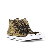 Chuck Taylor All Star High Sneakers aus beschichtetem Faux-Fur
