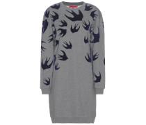 Bedrucktes Pulloverkleid aus Baumwolle