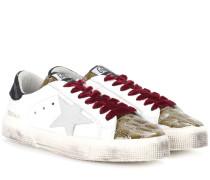 Sneakers May aus Leder