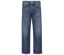Mid-Rise Cropped Jeans Emery
