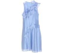 Kleid aus Organza mit Rüschen